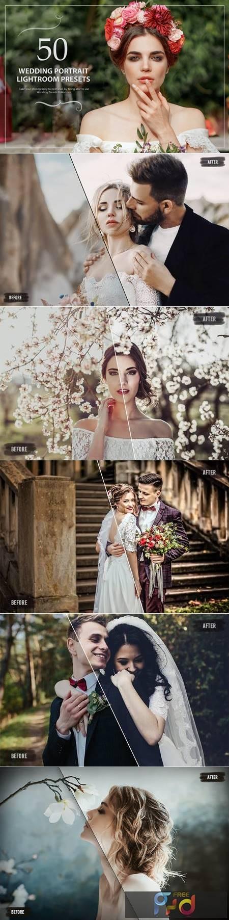 50 Wedding Portrait Lightroom Presets J7DN5W7 1