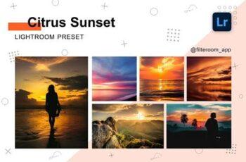 Citrus Sunset - Lightroom Presets 5238915 2