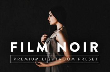 FILM NOIR Pro Lightroom Preset 5237631 4