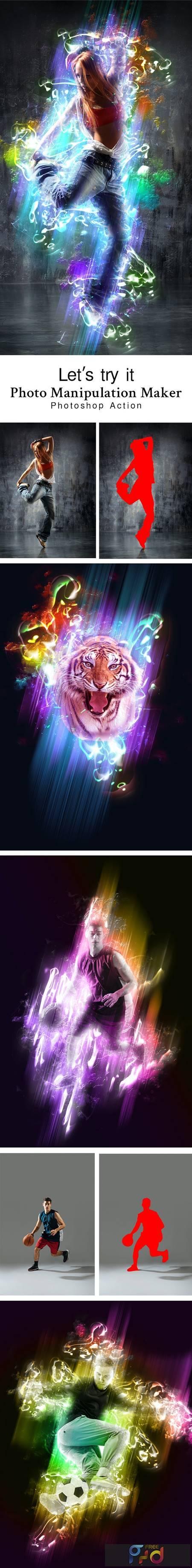 Photo Manipulation Maker Photoshop Action 28807039 1
