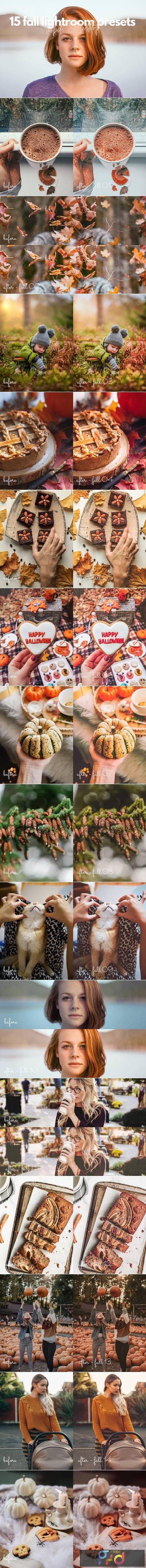 15 Fall - Autumn Lightroom Presets 5499857 1