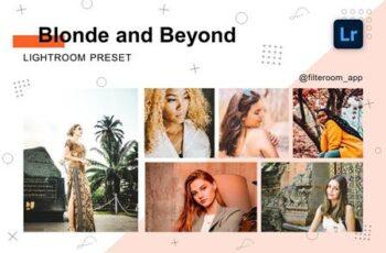 Blonde & Beyond - Lightroom Presets 5236637 5