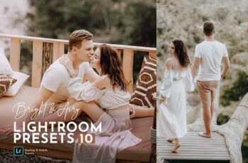 Bright & Airy Wedding Preset Pack 5492201 7