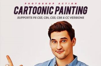 Cartoonic Painting 28408578 2