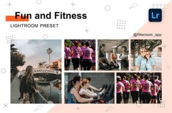 Fun & Fitness - Lightroom Presets 5236657 7