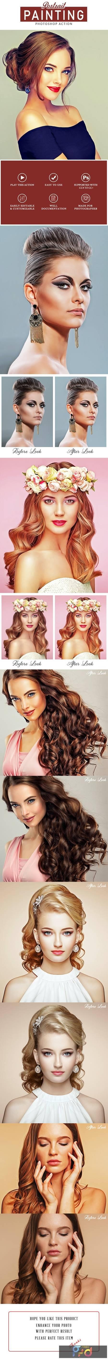 Portrait Painting Photoshop Action 28403905 1