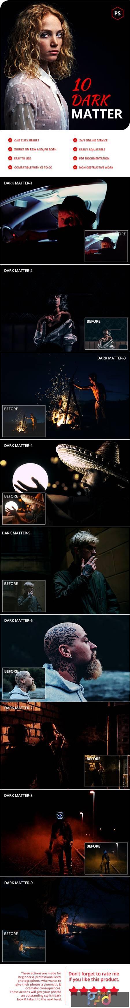 10 Dark Matter Photoshop Actions 28329765 1