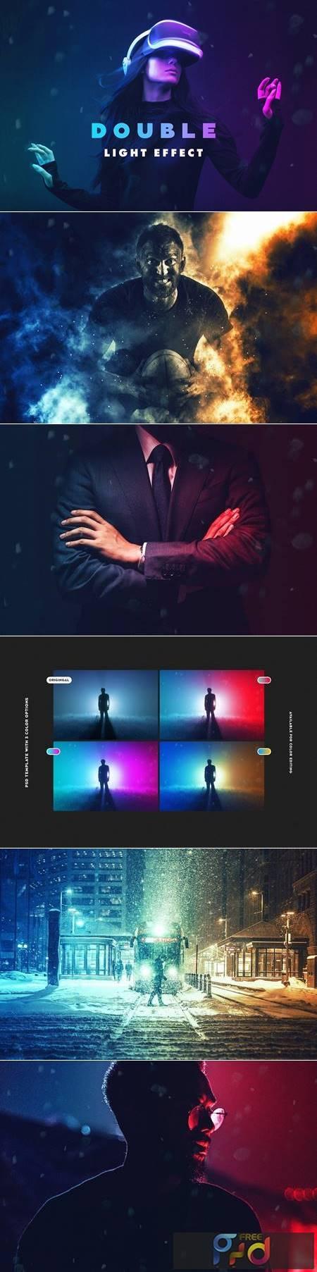 Double Light Photoshop Effect 4974274 1