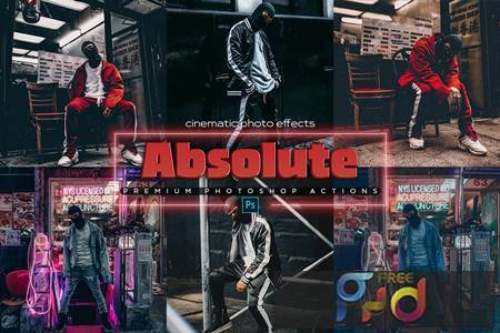 Absolute 6 Photoshop Cinematic Actions RABMEAX 1