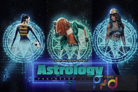 Astrology Space Photoshop Action CHJQBTR 1
