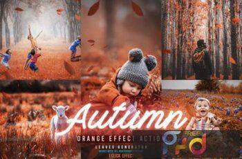 Autumn Photoshop Actions JUA4TJ3 13