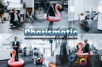 Charismatic Photoshop Action 96MBS45 2