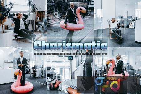 Charismatic Photoshop Action 96MBS45 1
