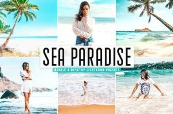 Sea Paradise Mobile & Desktop Lightroom Presets 5437511 8
