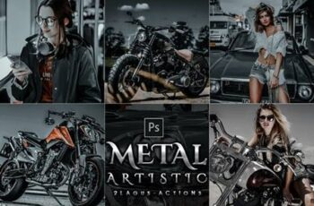 5 Artistic Metal Photoshop Actions 28751908 6