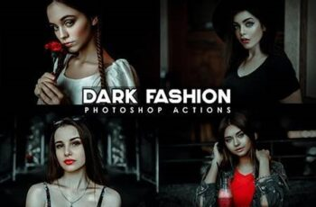 Urban - black Fashion Photoshop Actions 28745102 3