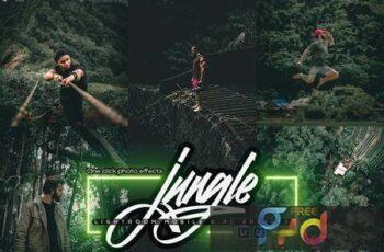 Green Jungle Lightroom Mobile & PC Presets VE7S9W5 5