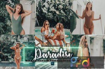 Paradise Photoshop Action XG32RN9 4