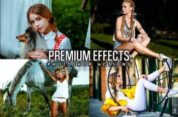 Premium Effects Photoshop Actions GVA64NW 5