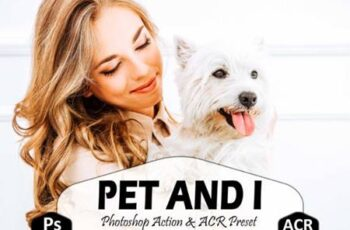 10 Pet and I Photoshop Actions Ps Preset 5916916 5