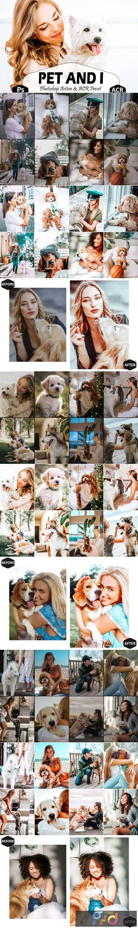 10 Pet and I Photoshop Actions Ps Preset 5916916 1