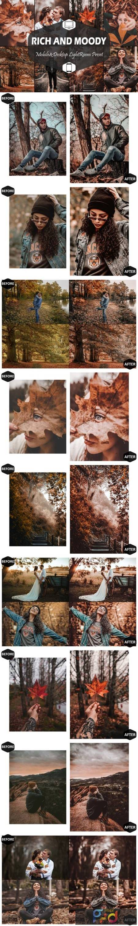 10 Rich and Moody Lightroom Presets 5916286 1