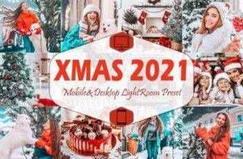 10 Xmas 2021 Mobile Lightroom Presets 5916710 7