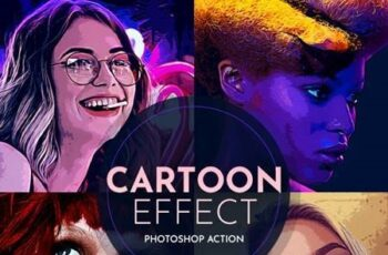 Cartoon Effect Photoshop Action 28468594 7