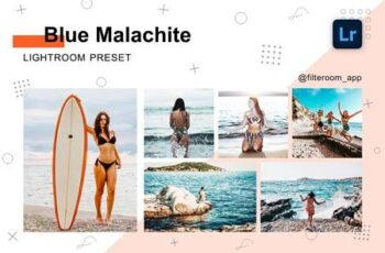 Blue Malachite - Lightroom Presets 5238851 5