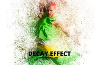 Decay Effect Photoshop Action 5125406 3