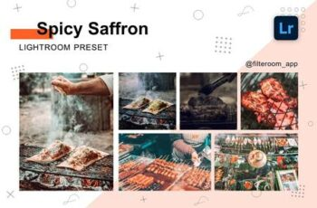 Spicy Saffron - Lightroom Presets 5238898 3