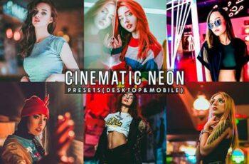Cinematic Neon Portrait Presets Lightroom 29048487 4