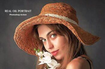 Real Oil Portrait Photoshop Action 5080830 3