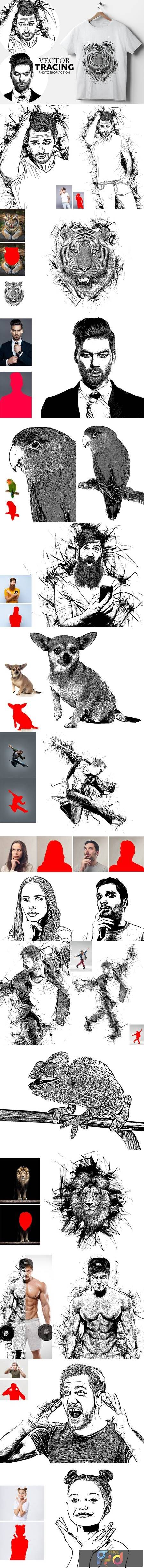 Vector Tracing Photoshop Action 5213620 1