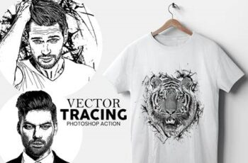 Vector Tracing Photoshop Action 5213620 6