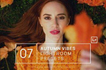 7 Autumn Vibes Lightroom Presets + Mobile 5QFPQVT 11