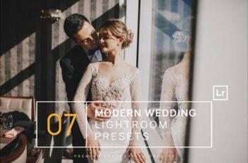 7 Modern Wedding Lightroom Presets + Mobile C8WXBZ4 11