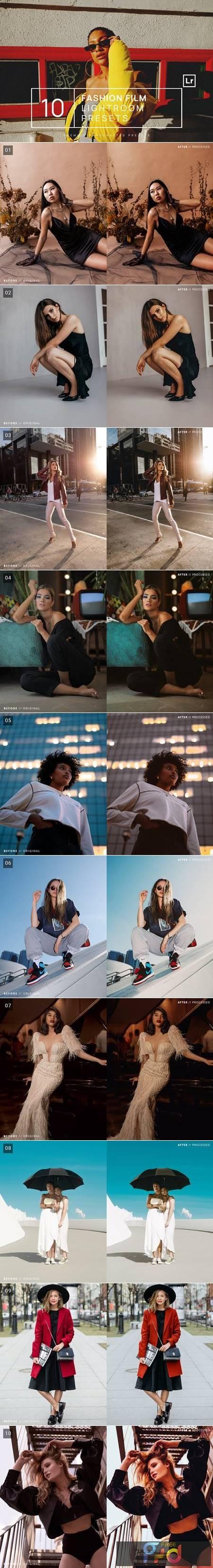 10 Fashion Film Lightroom Presets + Mobile VXK5SKY 1