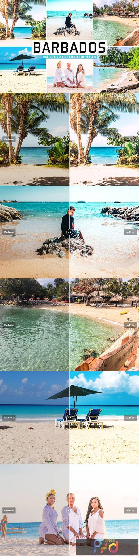 Barbados Pro Lightroom Presets 5498215 1