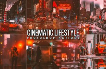 Cinematic Urban Street Photoshopo Actions BGE5ES4 8