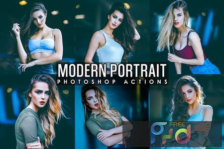 Modern Fashion Photoshop Actions TML4VMU 1