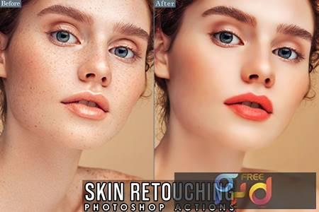 Skin Retouch Actions Photoshop QYGTNST 1