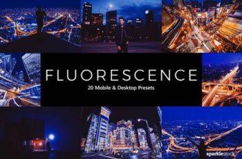 20 Fluorescence Lightroom Presets & LUTs 5471841 7