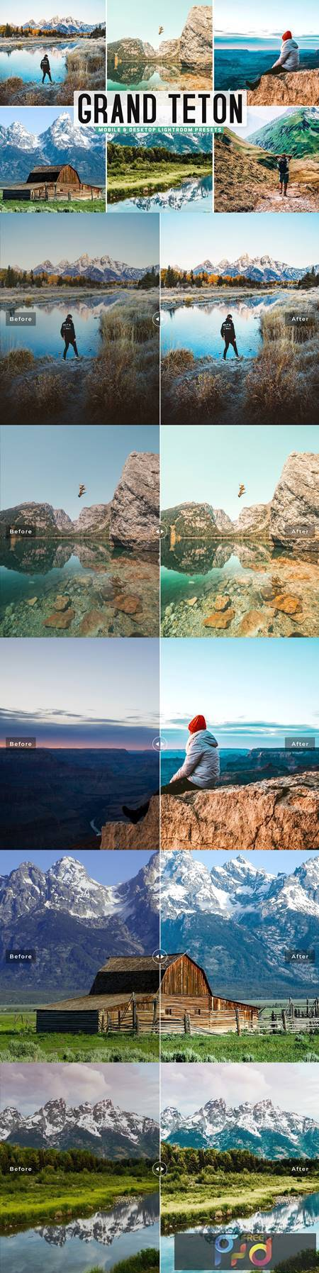 Grand Teton Pro Lightroom Presets 5478507 1