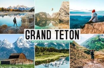 Grand Teton Pro Lightroom Presets 5478507 7