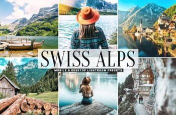 Swiss Alps Mobile & Desktop Lightroom Presets 5478257 4