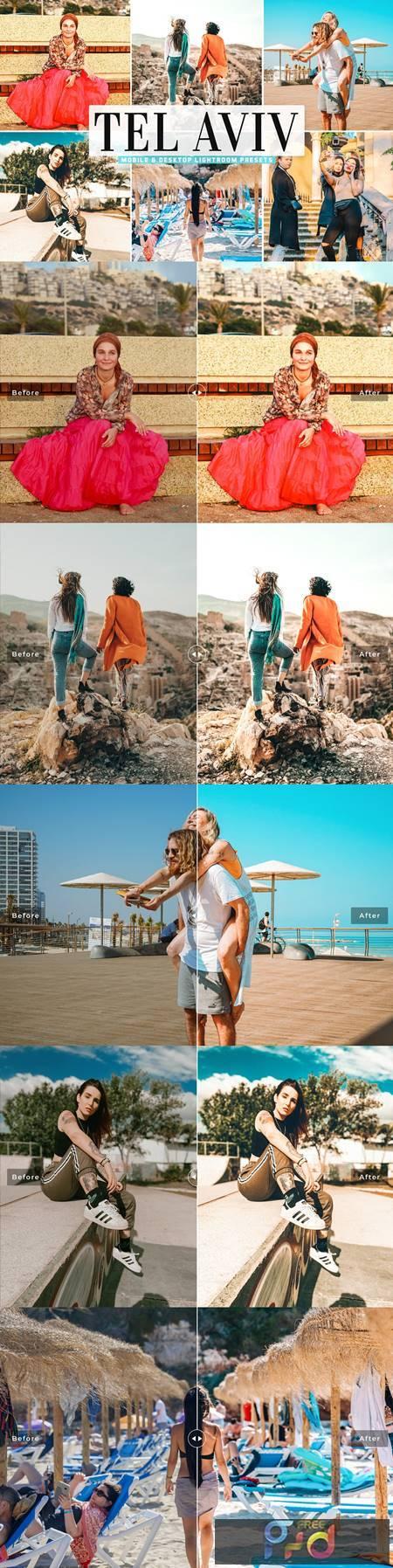Tel Aviv Mobile & Desktop Lightroom Presets 5478012 1