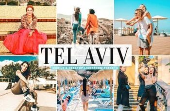Tel Aviv Mobile & Desktop Lightroom Presets 5478012 2
