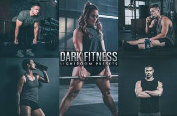 Dark film Fitness lightroom Presetes UARB68W 4