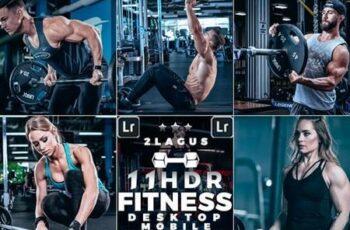 11 HDR Sports moody Presets Mobile & Desktop Lightroom 26516945 5